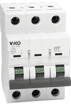Viko 3X40A 3Ka Otomatik Sigorta
