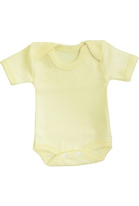 Sema Bebe Yarım Kol Badi (Body) - Sarı
