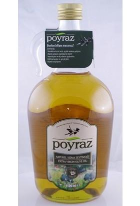 Poyraz Natürel Sızma Zeytinyağ 1500 ml Özel Galon