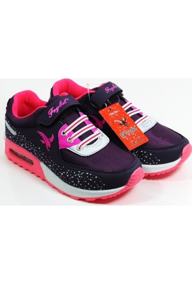 Feybıl Kız Çocuk Bebek Spor Ayakkabı 640 02