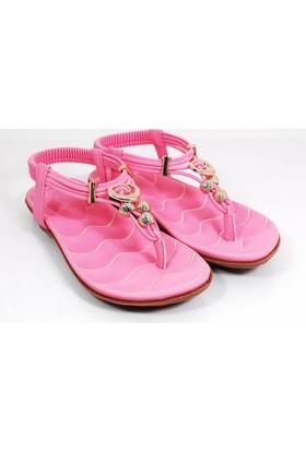 Guja Kadın Metalli Parmak Arası Terlik Sandalet H1004 5 01