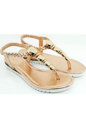 Guja Kadın Metalli Terlik Sandalet 17Y430 2 03