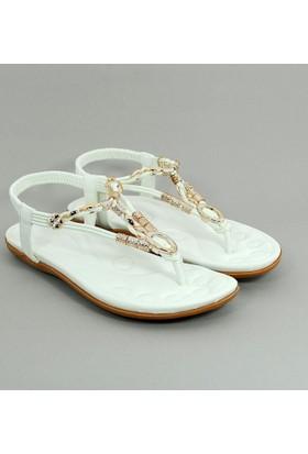 Guja Kadın Metalli Terlik Sandalet 17Y414 3 03