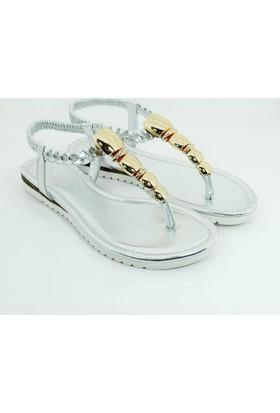 Guja Kadın Metalli Terlik Sandalet 17Y430 2 02