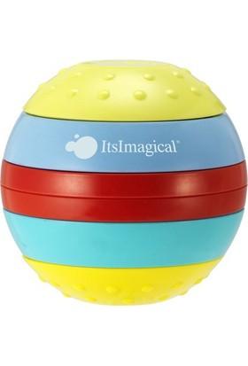 Imaginarium Işıklı Ve Sesli, Duyuları Geliştiren Top - Zıg-Zag Raınbow Ball