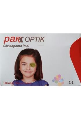 Pak Optik Göz Kapatma Pedi 100 Adet
