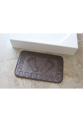 Alessia Home Ayakizi Füme Banyo Halısı