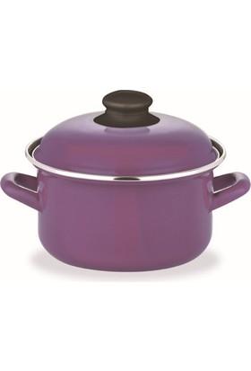 Schafer Pişir Sakla Tencere 18 Cm Mor