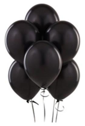 PartiStok Siyah Balon 100 Adet