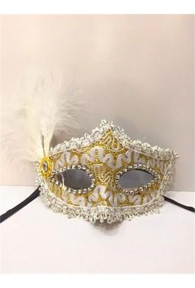 PartiStok Gümüş Parti Maskesi