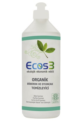 Ecos3 Organik Biberon ve Oyuncak Temizleyici 500 ml.