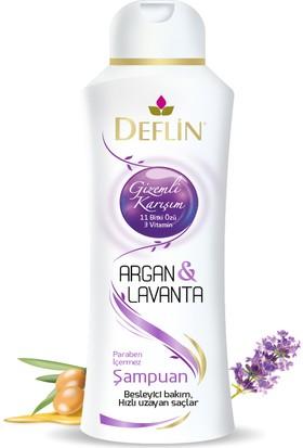 Deflin Argan&Lavanta Şampuan