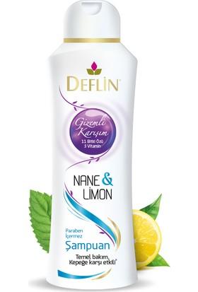 Deflin Nane&Limon Şampuan
