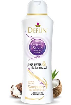 Deflin Shea Butter & Hindistan Cevizi Şampuan