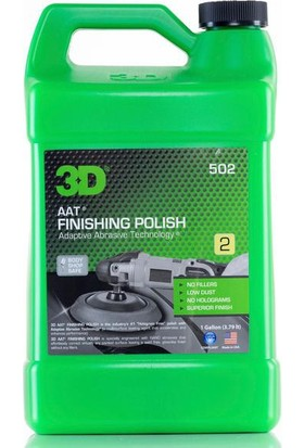 3D Aat Finishing Polish Hare Giderici, Son Cila 3.78 Lt. 502 G 01