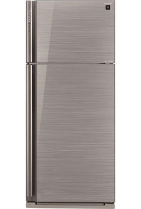 Sharp SJ-XP700G-SL Premium Gümüş No-Frost Buzdolabı
