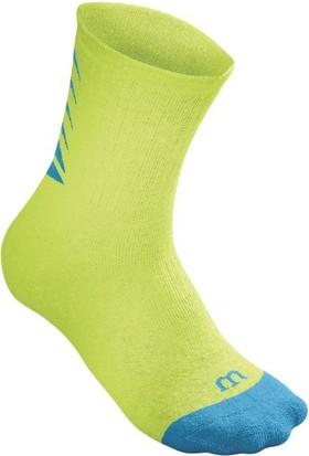 Wilson Youth Core Crew Erkek Çorabı - Aqua/Yeşil (S/M) ( WRA530XXX )