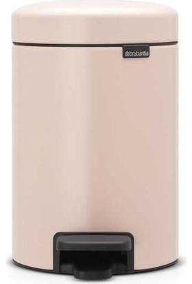 Brabantıa Newicon Clay Pink Pedallı Çöp Kutusu - 3lt