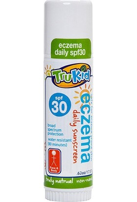 TruKid Eczema Daily Water Resistant Yüz ve Vücut Güneş Koruyucu Stick SPF30+