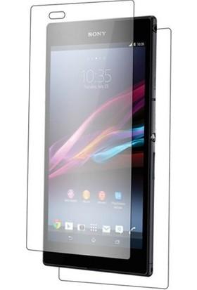 Coverzone Sony Xperia T2 Ekran Koruyucu Ön Ve Arka Jelatin + 3D Araç Kokusu