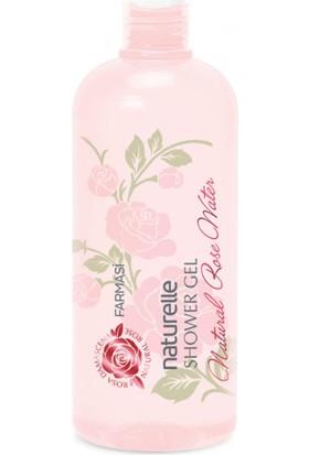 Farmasi Naturella Duş Jeli Naturel Rose Water Gül Suyu Özlü 375 Ml