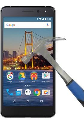 Teleplus General Mobile GM 5 Plus Tam Kapatan Cam Ekran Koruyucu Ekran Koruyu