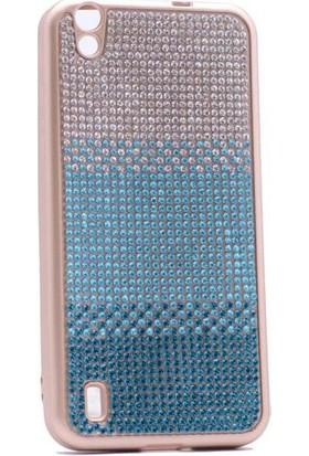 Teleplus Vestel V3 5000 Taşlı Silikon Kılıf