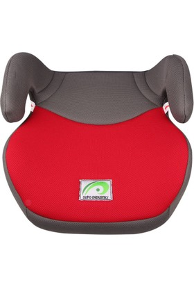 Sypo Çocuk Oto Koltuğu Yükseltici 15 - 36 kg Kırmızı Gri