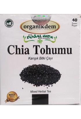 Siirt Doğal Gıda Chia Tohumu Bitki Çayı 40'lı Süzen Demleme