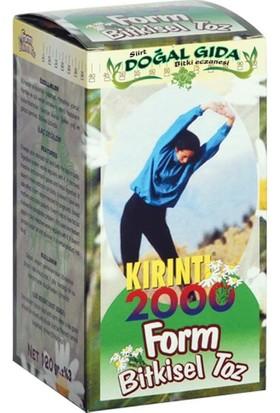 Siirt Doğal Gıda Kırıntı Bitkisel Toz Form 2000 120 gr
