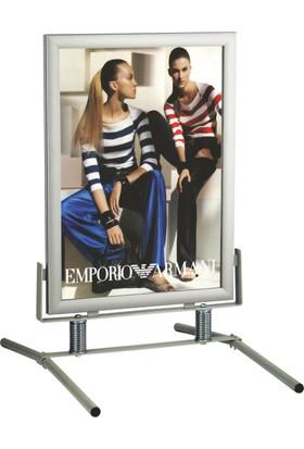 ORES Demir Ayaklı Poster Swing - B2 (500x700 mm.)