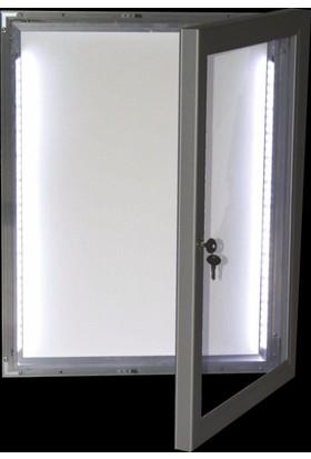 ORES LED Işıklı İlan Dolabı - 2xA4
