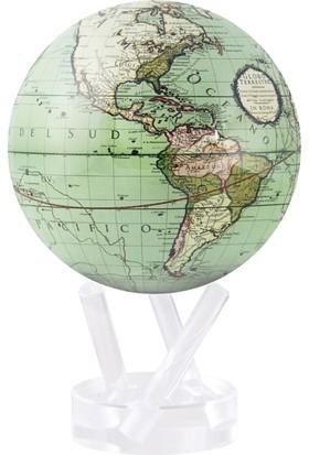 Mova Globe Işıkla Dönen Dünya Küresi Cassini Karasal Yeşil