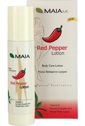 Maia Red Pepper Lotıon - Vücut Sıkılaştırıcı Losyon