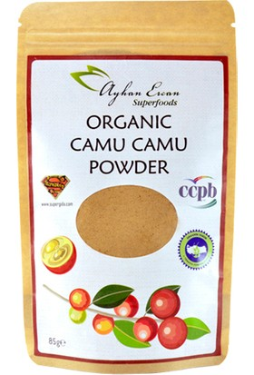 Ayhan Ercan Superfoods Organik Camu Camu Tozu 85 Gram