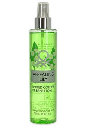 United Colours of Benetto Appealing Lily Refreshing Body Mist 250ml