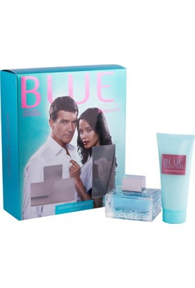 Antonio Banderas Blue Woman Edt 80 Ml + Body Lotion 75 Ml