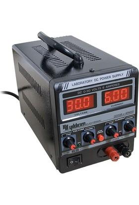 Yıldırım Ayarlı Güç Kaynağı 0-30 Volt 6 Amper