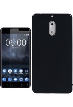 KılıfShop Nokia 6 Slim Rubber Kılıf + Nano Ekran Koruyucu