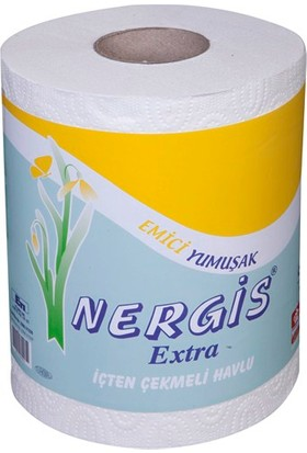 Nergis Extra İçten Çekmeli Havlu