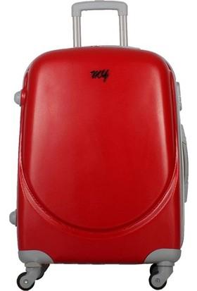 My Luggage Dayanıklı Sert Yüzey (Büyük Boy)Valiz Kırmızı 10111