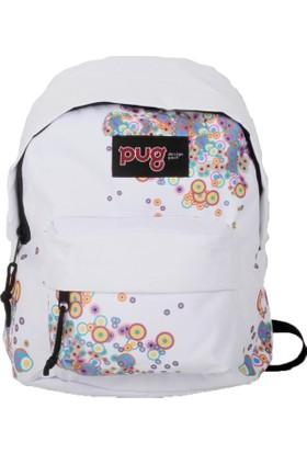 Pug Mini Renkli Sırt Çantası