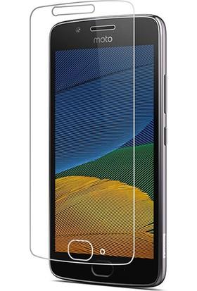 Case 4U Motorola Moto G5 Nano Cam / Nano Glass Kırılmaya Dayanıklı Ekran Koruyucu