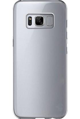 Case 4U Samsung Galaxy S8 Kılıf Ultra İnce Silikon Şeffaf