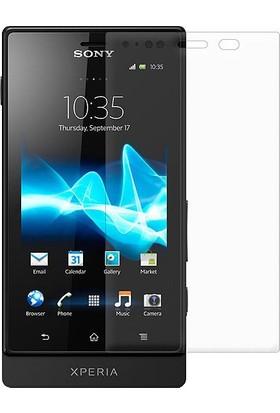 Case 4U Sony Xperia Sola Ekran Koruyucu ( Parmak İzi Bırakmaz )*