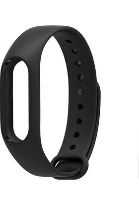Case 4U Xiaomi Mi Band 2 Akıllı Bileklik Kordonu Siyah