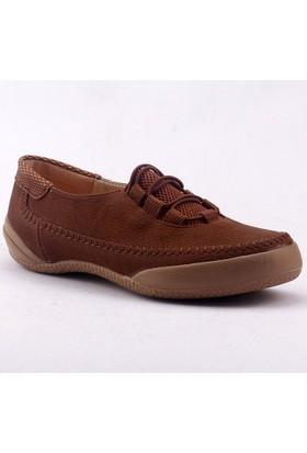 Caprito 436 Ortopedik Lastikli Yürüyüş Günlük Kadın Babet Ayakkabı