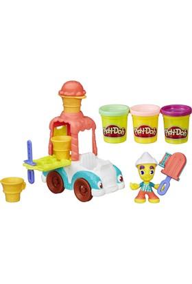 Play-Doh Town Dondurma Arabası
