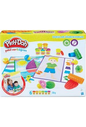 Play Doh Dokuları Öğreniyorum