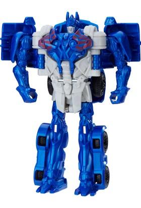Transformers 5 Turbo Changers Tek Adımda Dönüşen Figür - Optimus Prime